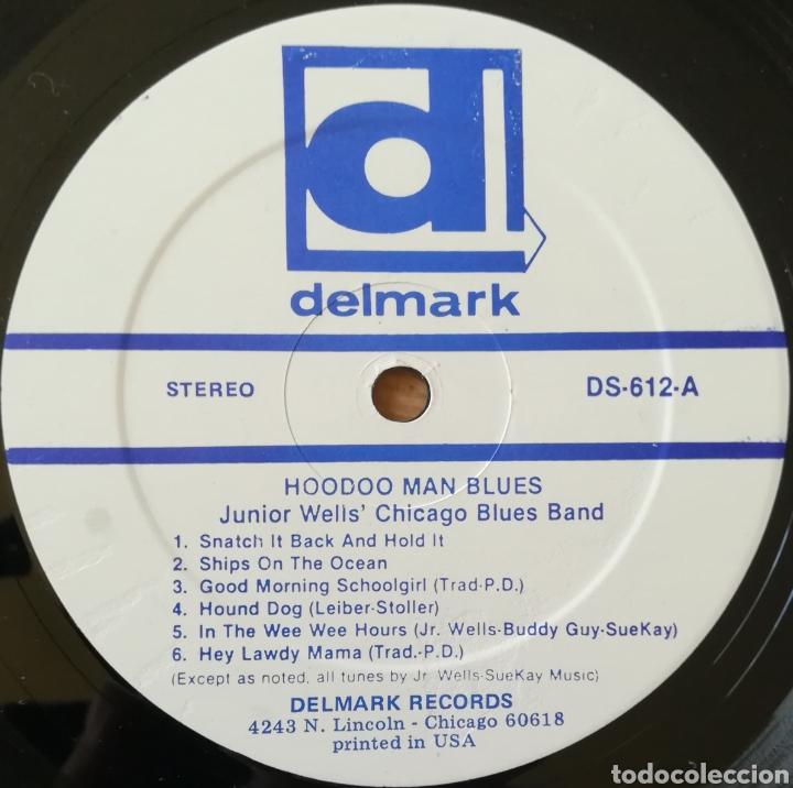 Discos de vinilo: Disco Junior Wells Chicago Blues Band - Foto 3 - 195297520