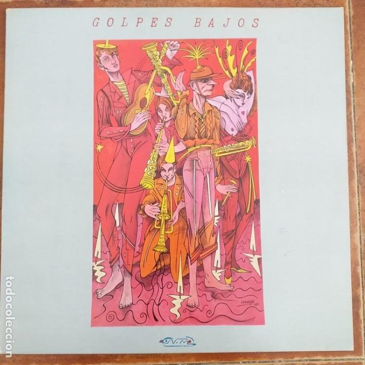 GOLPES BAJOS - NO MIRES A LOS OJOS DE LA GENTE (MX) 1983 (Música - Discos de Vinilo - Maxi Singles - Grupos Españoles de los 70 y 80)