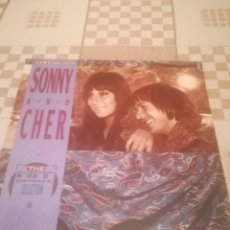 Discos de vinilo: SONNY AND CHER. THE HIT SINGLES COLLECTION.MCA 252 690-1.GERMANY 1989.A ESTRENAR.. Lote 195298497