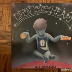 Discos de vinilo: J.O.B. ORQUESTRA – OPEN THE DOORS TO YOUR HEART SELLO: SUDARSHAN DISC – BBT NL1, SUDARSHAN DISC –. Lote 195299147