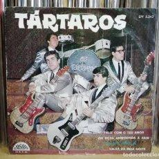 Discos de vinilo: OS TÁRTAROS - TARTÁRIA EP 1964 SURF INSTRO ROCK N ROLL PORTUGAL MUY RARO - PORTUGUESE NUGGETS . Lote 195299288
