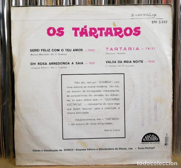 Discos de vinilo: OS TÁRTAROS - TARTÁRIA EP 1964 SURF INSTRO ROCK N ROLL PORTUGAL MUY RARO - PORTUGUESE NUGGETS - Foto 2 - 195299288