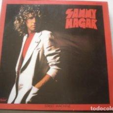 Discos de vinilo: SAMMY HAGAR STREET MACHINE. Lote 195300026