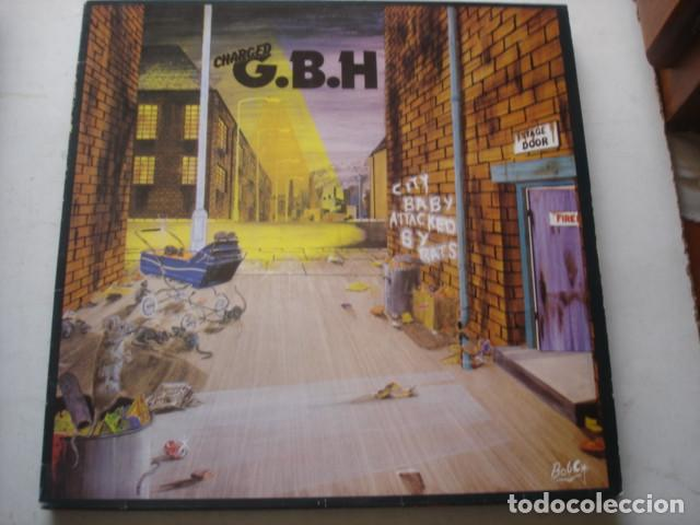 CHARGED G.B.H – CITY BABY ATTACKED BY RATS (Música - Discos - LP Vinilo - Punk - Hard Core)