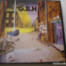 Discos de vinilo: CHARGED G.B.H – CITY BABY ATTACKED BY RATS. Lote 195300500