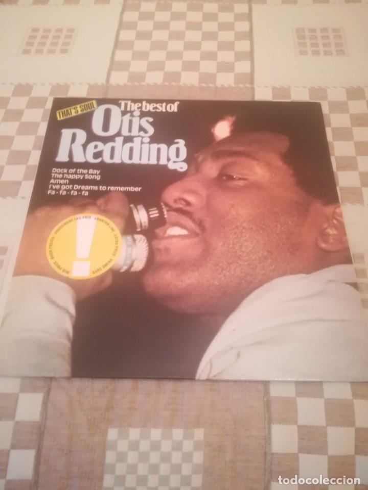 OTIS REDDING.THE BEST OF OTIS REDDING.ATLANTIC 50 752. REEDICIÓN ESPAÑOLA 1986.IMPECABLE. (Música - Discos - LP Vinilo - Funk, Soul y Black Music)