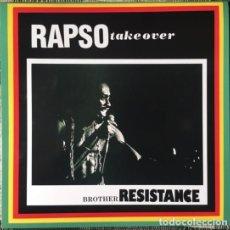 Discos de vinilo: BROTHER RESISTANCE – RAPSO TAKE OVER -LP-. Lote 195301790