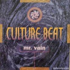 Discos de vinilo: CULTURE BEAT - MR. VAIN. Lote 195304350
