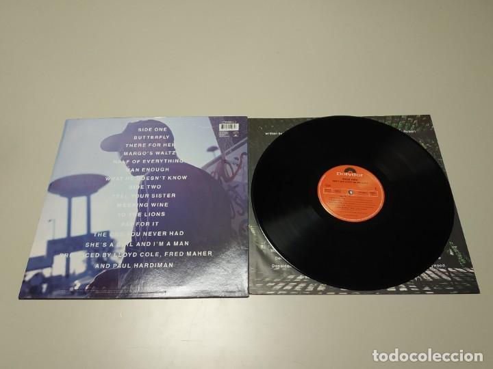 Discos de vinilo: 0220- LLOYD COLE DONT GET WEIRD ON ME BABE UK 1991 LP VIN POR VG +/++ DIS VG ++ - Foto 2 - 195305040