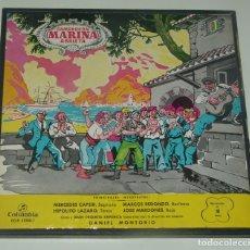 Discos de vinilo: MARINA CAMPRODON ARRIETA CAJA BOX CON 2 LPS VINYLS Y LIBRETO MADE IN SPAIN 1962. Lote 195305046