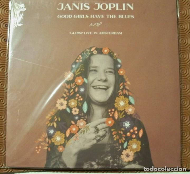 JANIS JOPLIN -GOOD GIRLS HAVE THE BLUES -LP LIVE IN AMSTERDAM 1969 SOUNDBOARD- (Música - Discos - LP Vinilo - Rock & Roll)