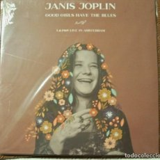 Discos de vinilo: JANIS JOPLIN -GOOD GIRLS HAVE THE BLUES -LP LIVE IN AMSTERDAM 1969 SOUNDBOARD-. Lote 195305442