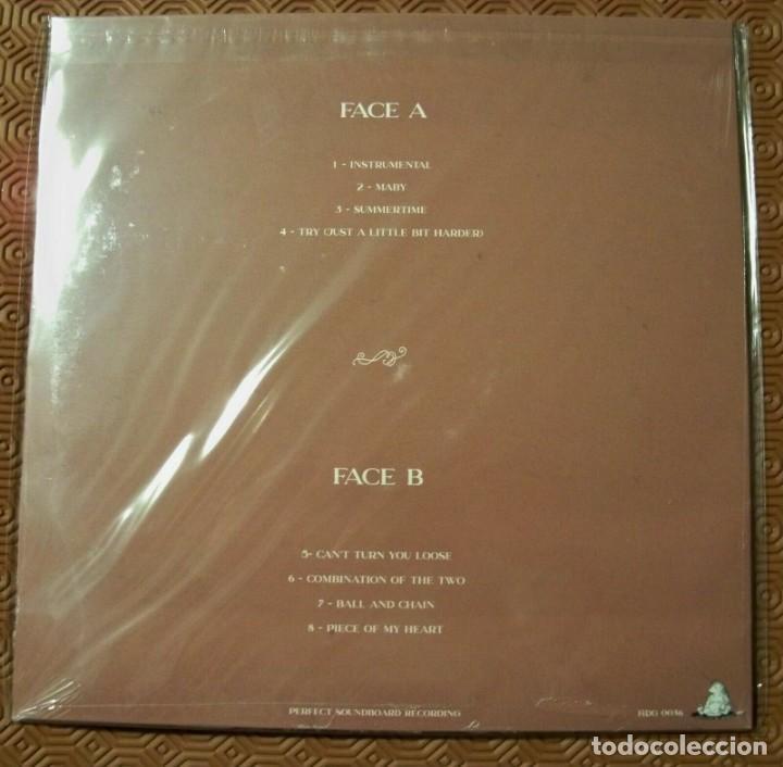 Discos de vinilo: JANIS JOPLIN -GOOD GIRLS HAVE THE BLUES -LP LIVE IN AMSTERDAM 1969 SOUNDBOARD- - Foto 2 - 195305442