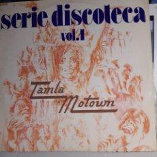 Discos de vinilo: SERIE DISCOTECA V.1TAMBLA MOTOWN. Lote 195305807