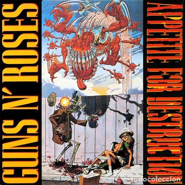 GUNS N' ROSES – APPETITE FOR DESTRUCTION -LP- (Música - Discos - LP Vinilo - Rock & Roll)