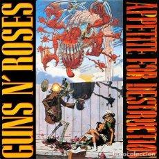 Discos de vinilo: GUNS N' ROSES – APPETITE FOR DESTRUCTION -LP-. Lote 195305937