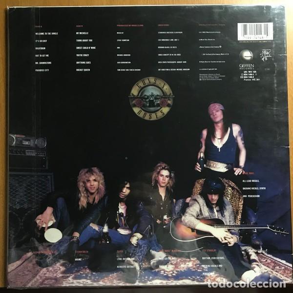 Discos de vinilo: Guns N Roses – Appetite For Destruction -LP- - Foto 2 - 195305937