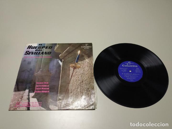 0220- EL HUESPED DEL SEVILLANO LUCA DE TENA ESPAÑA LP VIN POR VG + DIS VG + (Música - Discos - LP Vinilo - Otros estilos)