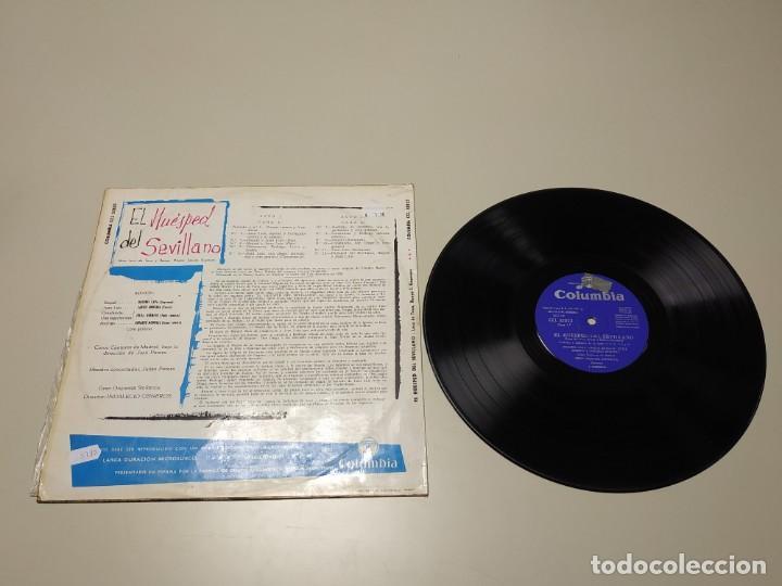 Discos de vinilo: 0220- EL HUESPED DEL SEVILLANO LUCA DE TENA ESPAÑA LP VIN POR VG + DIS VG + - Foto 2 - 195306057