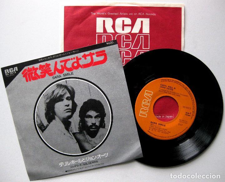 DARYL HALL & JOHN OATES - SARA SMILE - SINGLE RCA 1976 JAPAN (EDICIÓN JAPONESA) BPY (Música - Discos - Singles Vinilo - Pop - Rock - Extranjero de los 70)