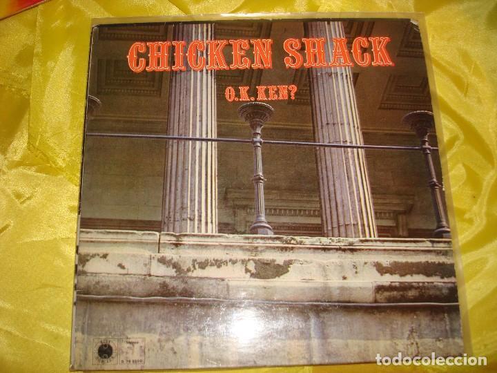 CHICKEN SHACK. O.K. KEN? BLUE HORIZON, 1968. IMPECABLE (#) (Música - Discos - LP Vinilo - Pop - Rock Extranjero de los 50 y 60)