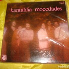 Discos de vinilo: MOCEDADES. KANTALDIA. NOVOLA, 1978 . PORTADA ABIERTA. IMPECABLE (#) . Lote 195308253