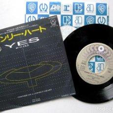 Discos de vinilo: YES - OWNER OF A LONELY HEART - SINGLE ATCO RECORDS 1983 PROMO JAPAN (EDICIÓN JAPONESA) BPY. Lote 195308477