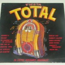 Discos de vinilo: FIESTA TOTAL - 2XLP - BMG-ARIOLA 1988 - HOMRES G - LA GRANJA - MECANO - NACHA POP - .... Lote 195308493