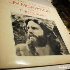Discos de vinilo: LP JIM MORRISON. THE DOORS. ELEKTRA HISPAVOX 1978 SPAIN CON LIBRETO 6 HOJAS (PROBADO Y BIEN). Lote 195308587
