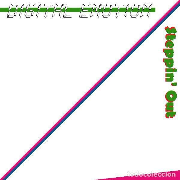DIGITAL EMOTION - STEPPIN' OUT - MAXI-SINGLE BLANCO Y NEGRO SPAIN 1985 (Música - Discos de Vinilo - Maxi Singles - Pop - Rock - New Wave Extranjero de los 80)