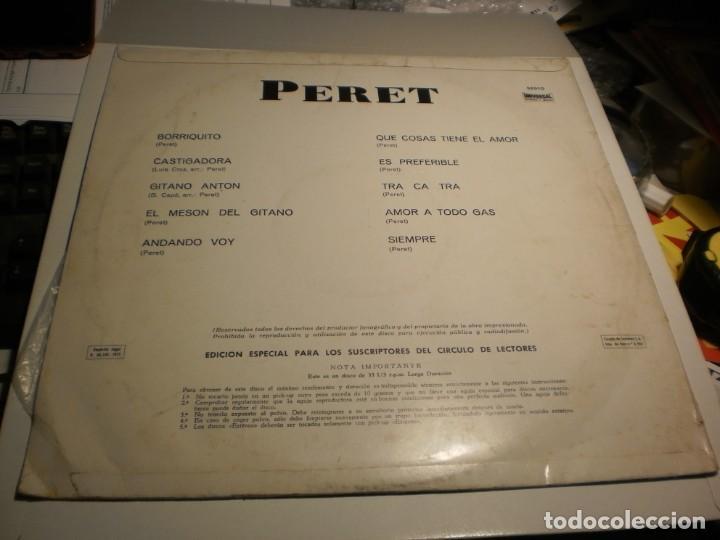 Discos de vinilo: lp peret. 10 temas de éxito. orlador 1971 spain (probado y bien) - Foto 2 - 195309852