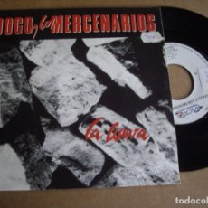 Discos de vinilo: DOGO Y LOS MERCENARIOS SG 7'' LA CUEVAEX. Lote 195310422