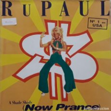 Discos de vinilo: RUPAUL - A SHADE SHADY (NOW PRANCE). Lote 195311411