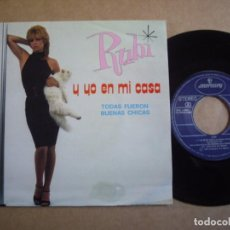 Discos de vinilo: RUBI SG 7'' Y YO EN MI CASA JOYA MOVIDA MERCURY 1983 EX. Lote 195311633