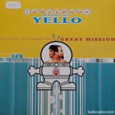 Discos de vinilo: JAM & SPOON'S - HANDS ON YELLO. Lote 195311873