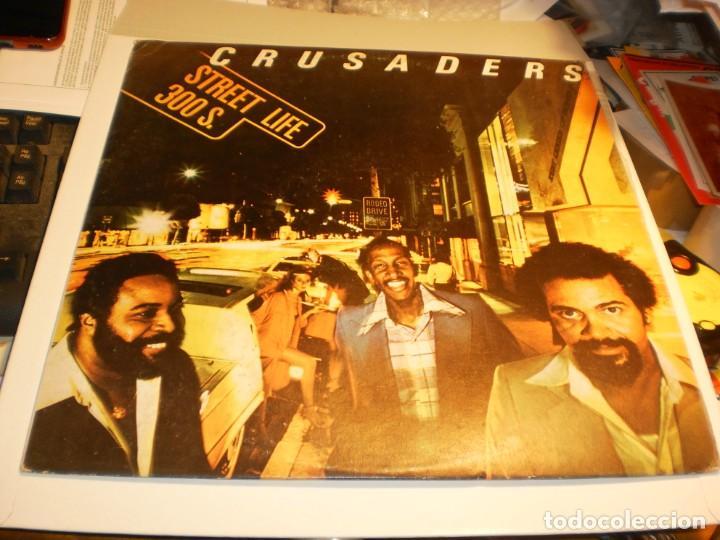LP CRUSADERS. STREET LIFE 300 S. MCA 1980 SPAIN CON INSERTO (PROBADO, BIEN Y SEMINUEVO) (Música - Discos - LP Vinilo - Funk, Soul y Black Music)