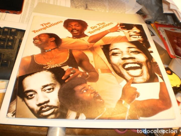 LP THE TEMPTATIONS. DO THE TEMPTATIONS. MOTOWN 1976 SPAIN (PROBADO Y BIEN, BUEN ESTADO) (Música - Discos - LP Vinilo - Funk, Soul y Black Music)