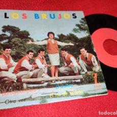 Discos de vinilo: LOS BRUJOS EL PORON POMPERO/EL ANILLITO/OTRA VEZ/EL RIO DE LA LUNA EP 1962 ZAFIRO. Lote 195314218