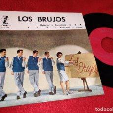Discos de vinilo: LOS BRUJOS QUISIERA/MARAVILLOSA/CADA CUAL/LLEVAN EP 1962 ZAFIRO. Lote 195314586