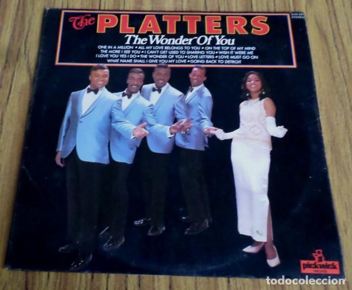 THE PLATTERS -- THE WONDER OF YOU (Música - Discos - LP Vinilo - Pop - Rock Extranjero de los 50 y 60)
