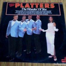 Discos de vinilo: THE PLATTERS -- THE WONDER OF YOU. Lote 195314987