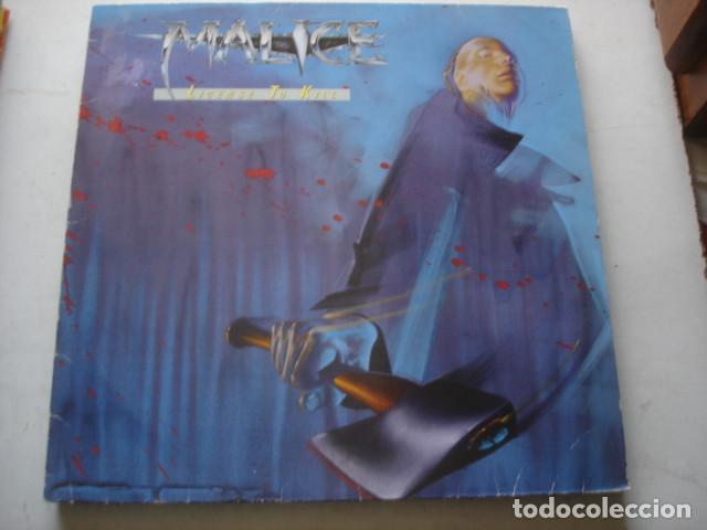 MALICE LICENSE TO KILL (Música - Discos - LP Vinilo - Heavy - Metal)