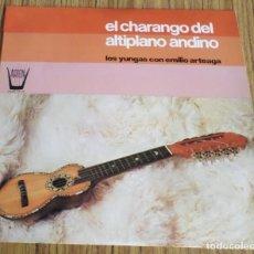 Discos de vinilo: EL CHARANGO DEL ALTIPLANO ANDINO - LOS YUNGAS CON EMILIO ARTEAGA . Lote 195315485