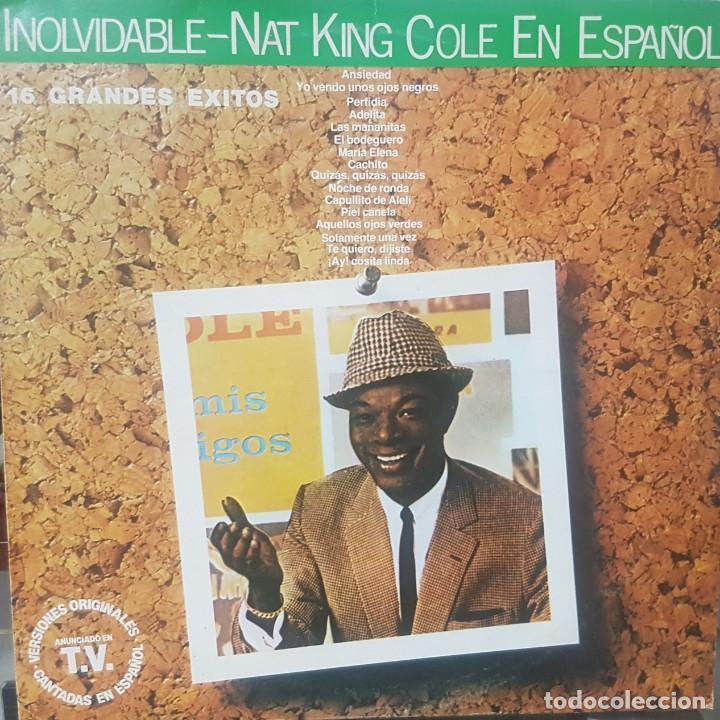 Discos de vinilo: Lote de 2 LPs de Nat King Cole en Español - Uno del Circulo de Lectores - Soul Blues - Mirar fotos - Foto 2 - 195315963