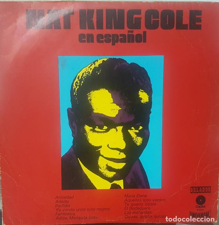 Discos de vinilo: Lote de 2 LPs de Nat King Cole en Español - Uno del Circulo de Lectores - Soul Blues - Mirar fotos - Foto 4 - 195315963