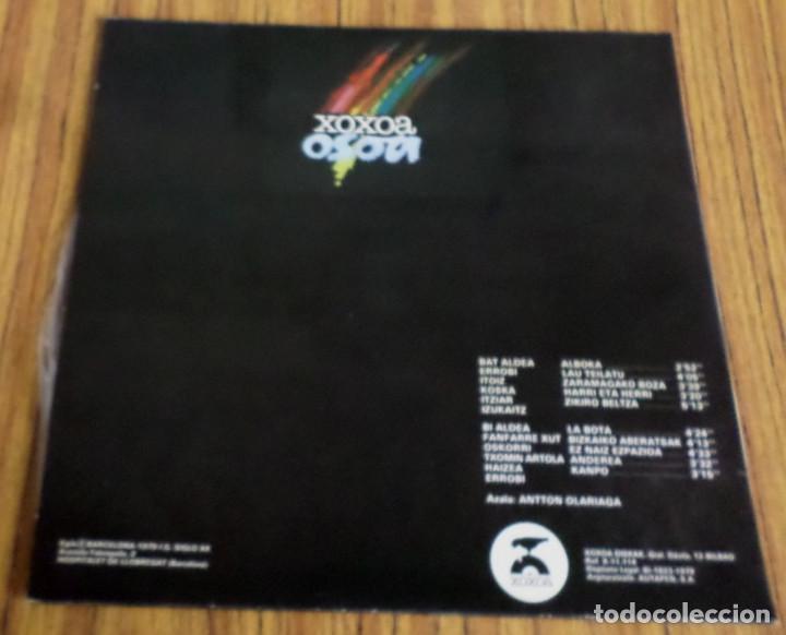 Discos de vinilo: XOXOA OSOA -- ERROBI, ITOIZ, IZUKAITZ, HAIZEA, ITZIAR, KOSKA... - Foto 2 - 195316132