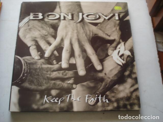 BON JOVI KEEP THE FAITH (Música - Discos - LP Vinilo - Heavy - Metal)