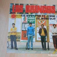 Discos de vinilo: BRINCOS, LOS, SG, GRACIAS POR TU AMOR + 1, AÑO 1968. Lote 195316377