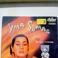 Discos de vinilo: YMA SUMAC DISCO DE 4 CANCIONES VER FOTOS. Lote 195316383