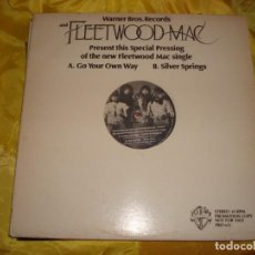 Discos de vinilo: FLEETWOOD MAC. GO YOUR OWN WAY . WARNER, 1976. MAXI- SINGLE. PROMOCIONAL. IMPECABLE (#). Lote 195316502